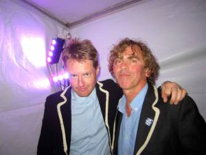 Lee Gale and Declan Lowney at Festival No.6