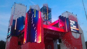 Vodafone Stage video game, Sziget, 2011