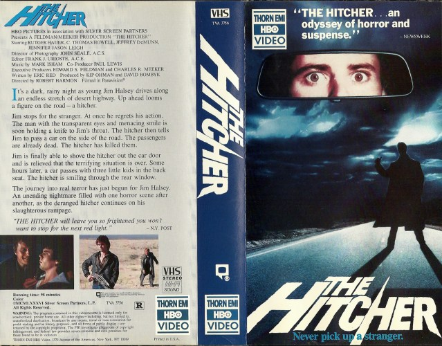 The Hitcher on VHS