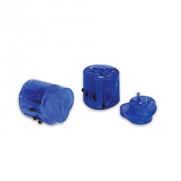 Universal Travel Adaptor (Blue)