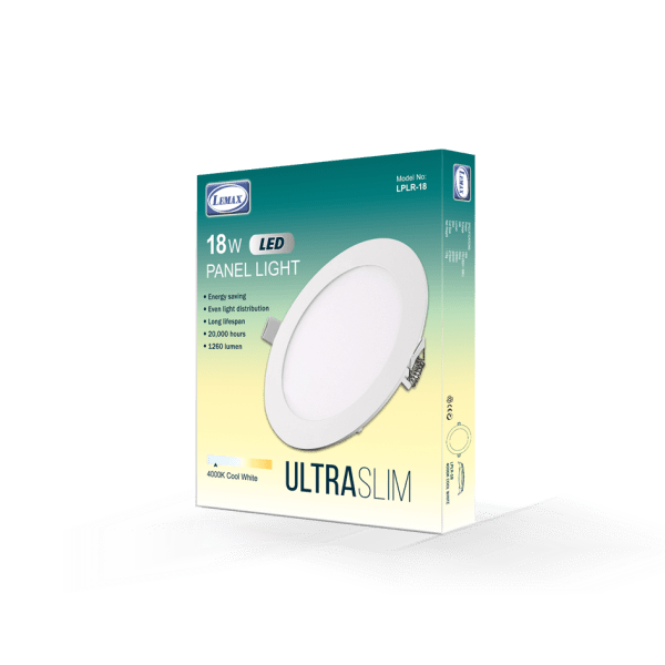 LEMAX LED Panel Light (18W)