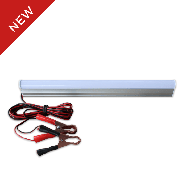 LEMAX DC 12V T5 Light Fitting c/w Clip & Cable (6W)