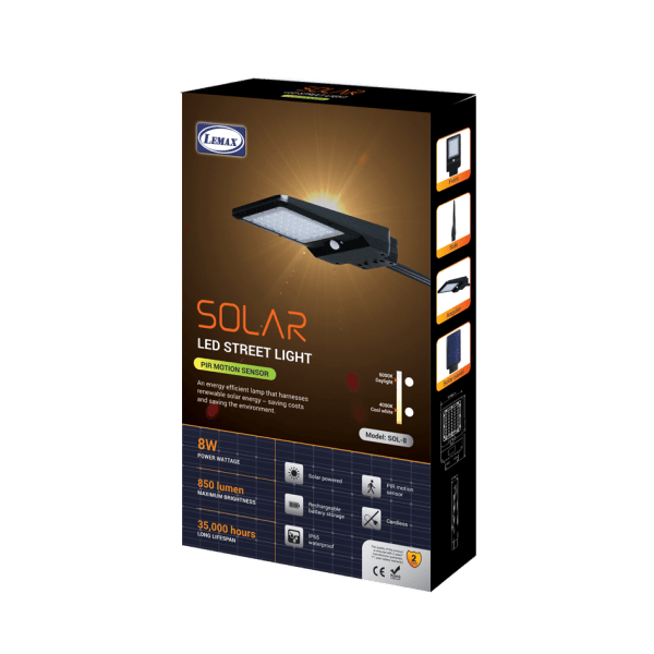 LEMAX Solar LED Light (SOL-8)