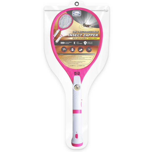 LEMAX 2 in 1 Rechargeable Insect Zapper (IZ-328P) (Packaging)