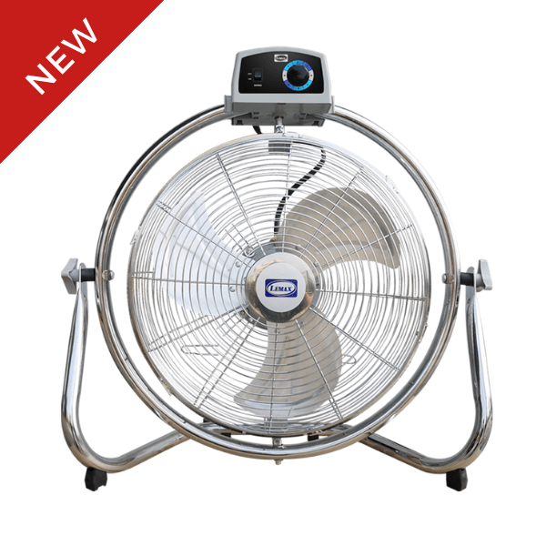 "LEMAX High Velocity Floor Fan 16"" HVFL-16"