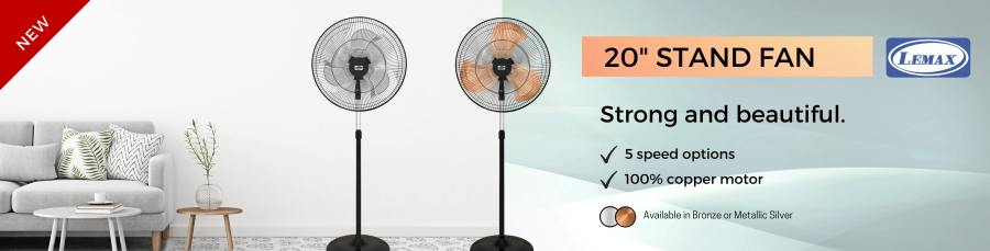 20'' Stand Fan