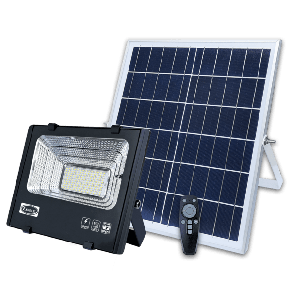 LEMAX Solar LED Flood Light SOL-100 (With Solar Panel)