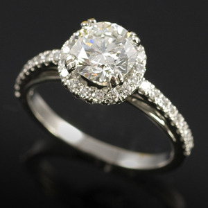 """Current"" antique style engagement ring"