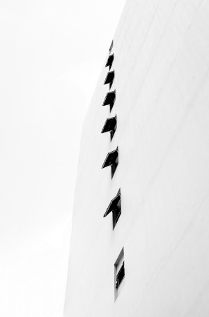 architecture fine art photography black and white minimalism