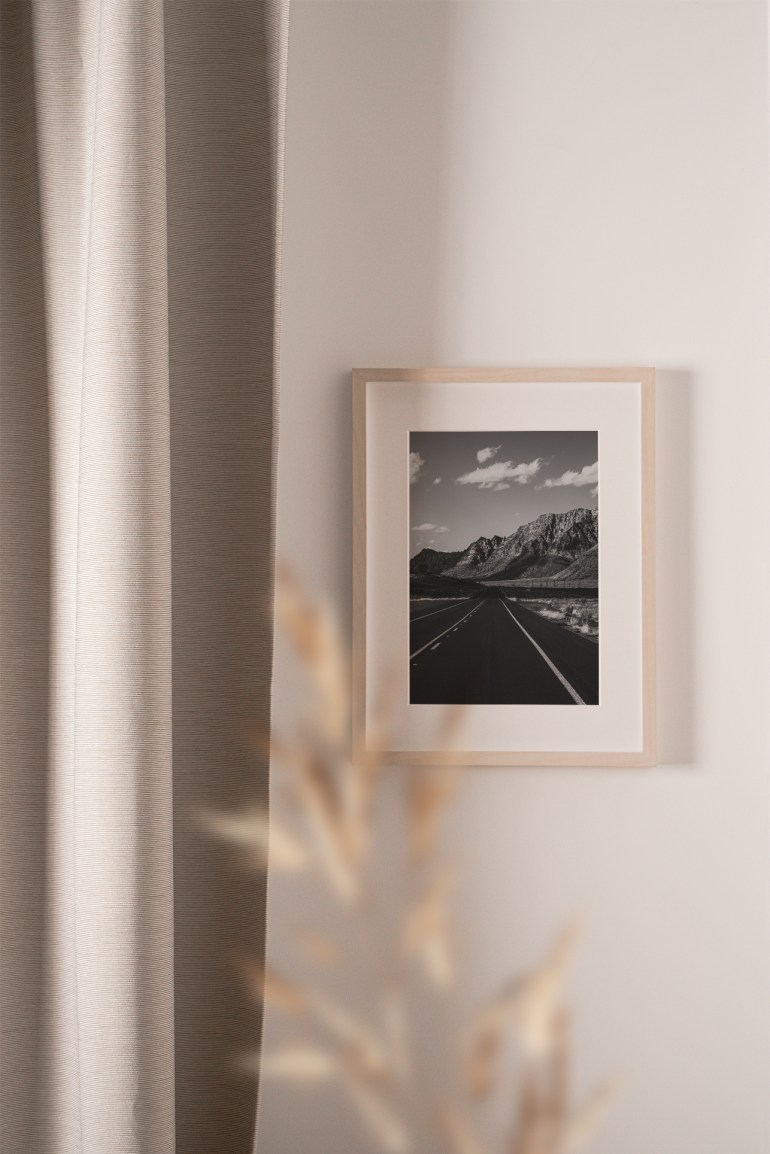 road art photography print limited edition