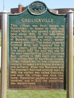 Greilickville Marker