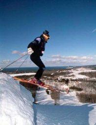 Skier at Sugar Loaf … I think it