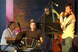 Barefoot Tango, a Nuevo Tango Quartet from Traverse City