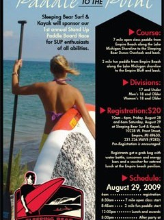 Paddle to the Point - 1st Annual Stand Up Paddle Board Race