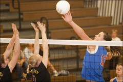 Leland Volleyball team claims 2009 Regional Title