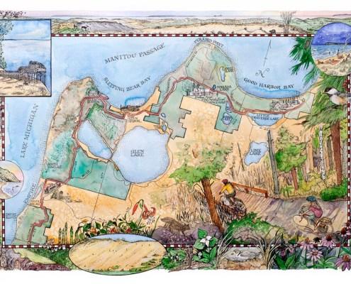 Sleeping Bear Heritage Trail opens June 20th!