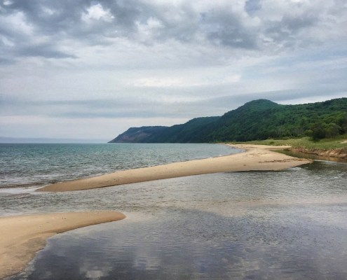 The Ghost Town of Aral in the Sleeping Bear Dunes
