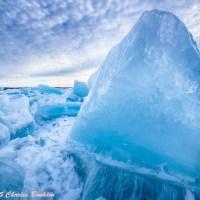 Blue Ice off Gills Pier
