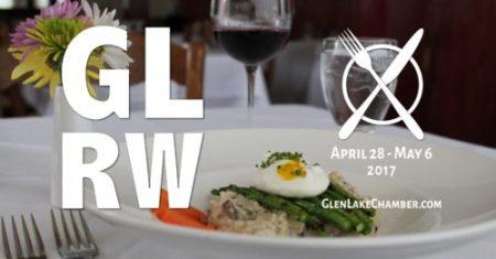 Glen Lake Restaurant Week April 28 - May 6, 2017