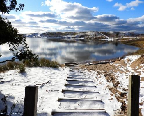Winter has arrived at North Bar Lake