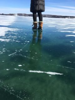 Amazing Ice on Suttons Bay