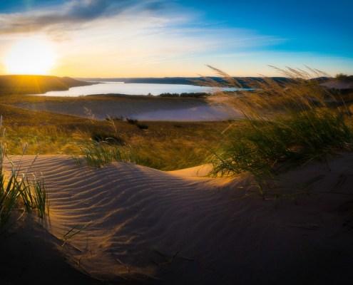 Morning on the Sleeping Bear Dunes