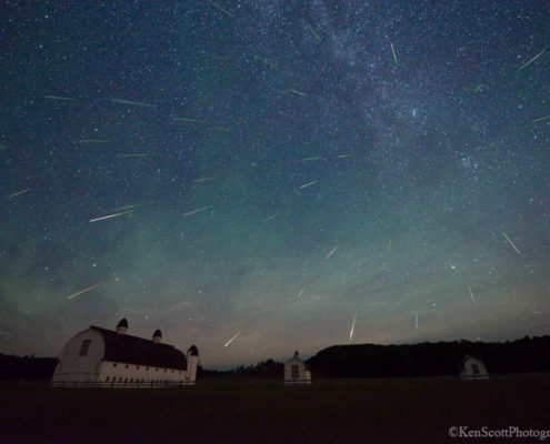 2018 Perseid Meteor Shower is here!