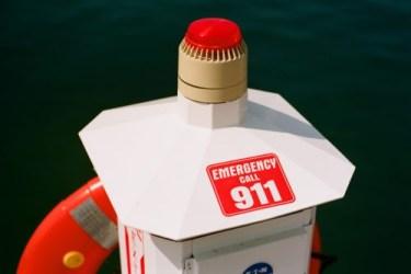 Call 911 - Leland Harbor by Tom Powell