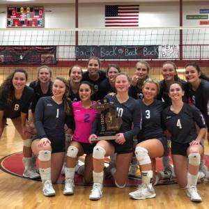 Leland Heading to State Volleyball Tournament