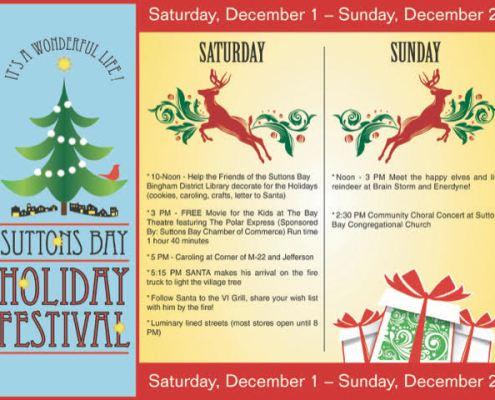 Suttons Bay Holiday Festival - Dec 1 & 2