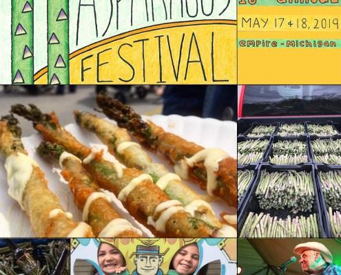 16th annual Empire Asparagus Festival - May 17 & 18, 2019