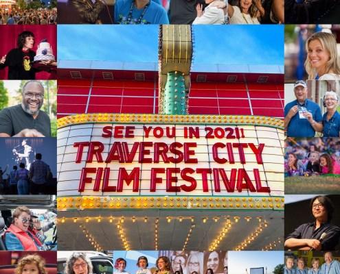 2021 Traverse City Film Festival Marquee