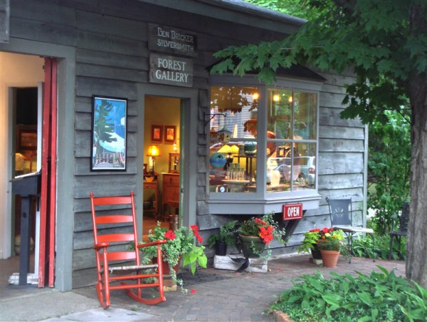 Forest Gallery in Glen Arbor Michigan