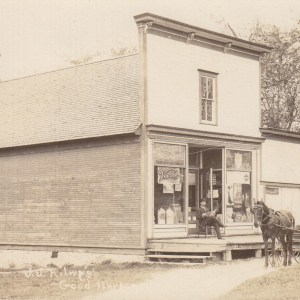 J.J. Kilwy's store in Good Harbor taken in 1909