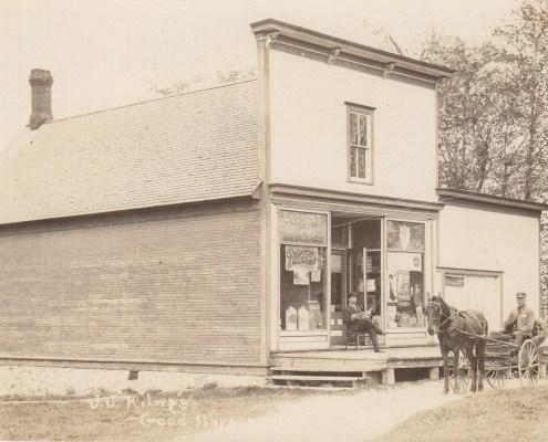 J.J. Kilwy's store in Good Harbor taken in 1909
