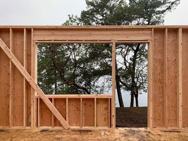 Our Future Bedroom Window and Door