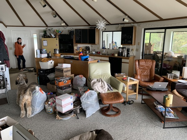 The Yurt after a big load from Seattle