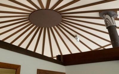 The Yurt-Shaped House on Orcas Island ⛺️🏡