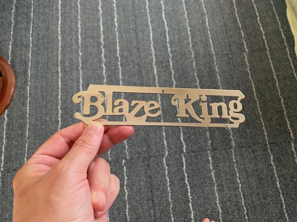 the name plate