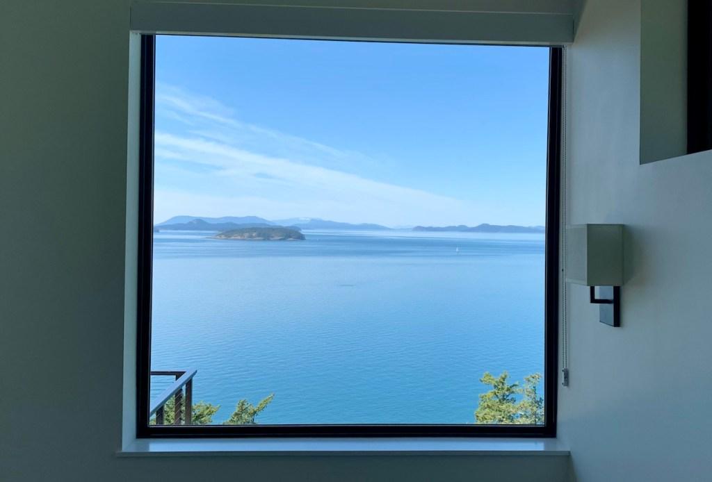 window over water