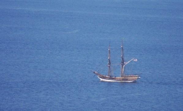 big sailboat