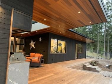 Flattop House Outdoor Room
