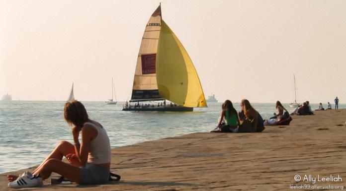 Attesa sul Molo Audace a Trieste © leeliah99.altervista.org