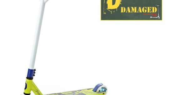 Damaged D-Tox Scooter – Lime