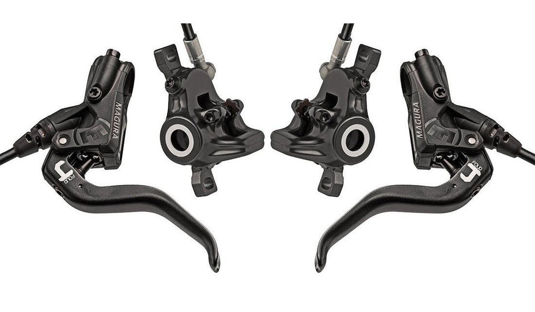 MT4 Carbotecture Hydraulic Disc Brake Set – Front & Rear + 160mm Rotors (Carbon)