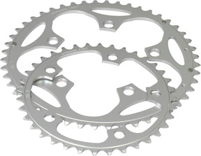 Stronglight 5-Arm/110mm Chainring: 50T Silver