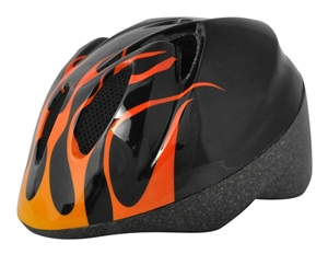 Alpha Plus Junior Helmet Flame 52-56cm