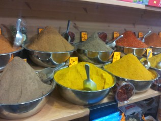 I cannot explain how amazing being around fresh spices like this is. The aromas are magnificent.