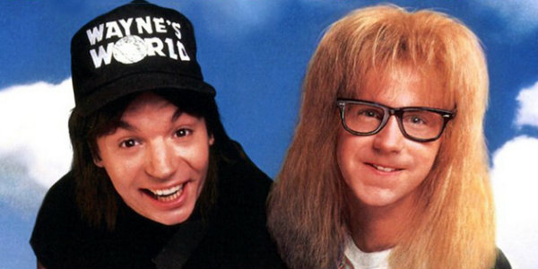waynes world affiche 25 ans