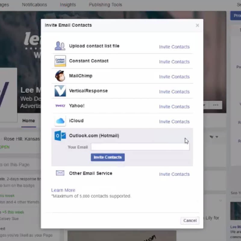 How to Invite Likes on Your Facebook Business Page